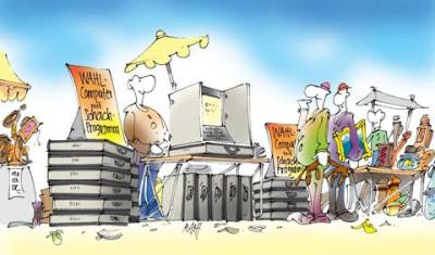 e-voting wahlcomputer heise.de c't